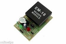 EM18 RFID Reader Module FOR Electronic Projects/DIY free 2 RFID Cards 125KHz