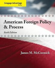 American Foreign Policy and Process by James M. McCormick (2013, Paperback)