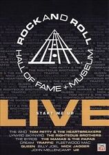 ROCK AND ROLL HALL OF FAME + MUSEUM: LIVE - START ME UP DVD