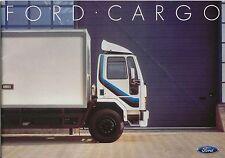 Ford Cargo Truck Tandem Tipper Artic 1985-86 Original UK Sales Brochure No FB750