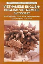 Vietnamese-EnglishEnglish-Vietnamese Dictionary: With a Supplement of New Words,