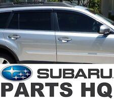 2010-2014 Subaru Outback OEM Side Window Deflectors Vent Visors E3610AJ200