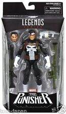 "Hasbro Marvel Legends Series Spider Man Series 6"" Punisher Action Figure AU"