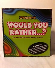 Would You Rather... Adult Challenge Questions Board Game by Zobmondo