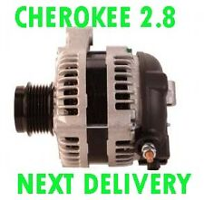 Jeep Cherokee 2.8 2004 2005 2006 2007 2008 totalmente Remanufacturado Alternador