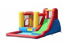 Inflatable Bounce House Jump & Splash Adventure Water Slide Bouncer