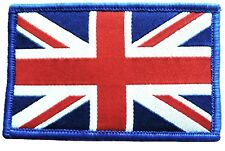 GB UNION JACK PATCH sew on British military UJ flag badge army Red white blue
