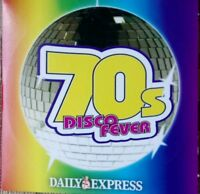 70's DISCO FEVER - DAILY EXPRESS PROMO MUSIC CD