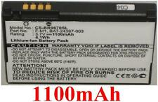 Batterie 1100mAh Pour BLACKBERRY 9670, Pearl 9100 9105, Oxford, Stratus, Striker
