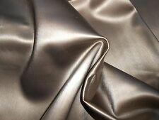 "ONE new remnant faux LEATHER FABRIC VINYL upholstery antique bronze 45"" X 60"" ++"