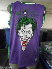Mens Licensed DC Comics The Joker From Batman Jersey Shirt Rare New 2XL