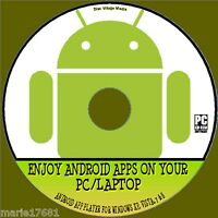 USE ANDROID APP'S ON YOUR WINDOWS PC/LAPTOP SUPER ANDROID APP EMULATOR CD NEW