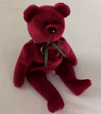 CRANBERRY TEDDY BEAR TY Beanie Baby ORIGINAL 1993 RETIRED Collectible RARE #4052