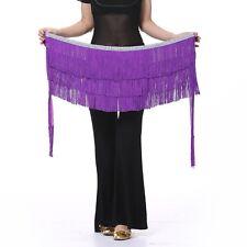 New Belly Dance Costume Hip Scarf Belt Tribal Fringe Tassel wrap Belt Skirt