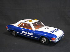 Paya Metal (Tin Plated) Mercedes-Benz Police Car 1:12 with Light and Sound (JS)
