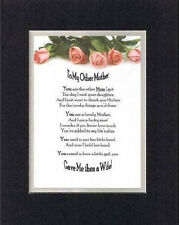 Poem For Mothers - To My Other Mom (from Son-in-Law) 11x14 DoubleMatting