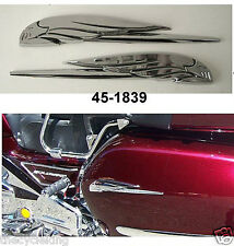 CHROME EAGLE EMBLEMS (pair) - Honda Goldwing GL 1100 1200 1500 1800