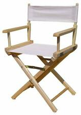 Yu Shan 18-Inch Director Chair, Natural Frame 200-00U  (FRAME ONLY) New
