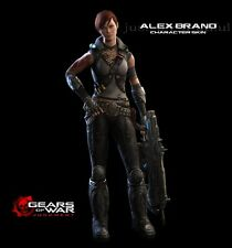 Gears of War Judgment Alex Brand Skin DLC Pre-Order Code - Microsoft Xbox 360
