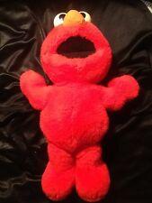 Original Tickle Me Elmo Plush without electronic box GOOD Sesame Street Tyco 95