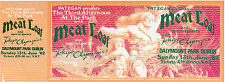 MEAT LOAF CONCERT TICKET 1982 ORIGINAL MINT DUBLIN WITH TOKIO OLYMPICS VALUABLE