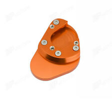 Orange Side Stand Plate Large KTM 690 SMC/Duke 950/990 Adventure/990 SM/SMT/SMR