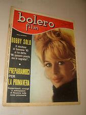 BOLERO=1965/929=BRIGITTE BARDOT COVER MAGAZINE=BOBBY SOLO=LA FIGLIA DEL CAPITANO