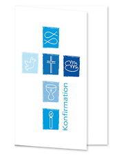 Grußkarten/ Dankkarten/ Passepartoutkarten 20 Stück & Umschläge für 10x15 KFblau