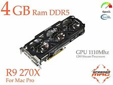  R9 270X 4GB Ram GDDR5 pour Mac Pro AMD Radeon  ( As HD 7950) GPU à 1100Mhz