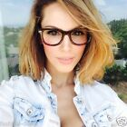 Havana Brown Ombre Demi Gradient Wayfarer Kim  Women Lady Eyeglasses