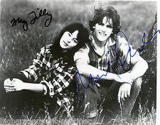 "MEG TILLY & MATT DILLON  DUAL AUTOGRAPHED SIGNED 8X10 FROM THE 1982 FILM ""TEX"""