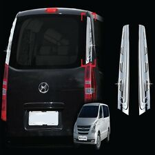 Rear Pillar Chrome cover Trim 2pc For 07 12 Hyundai H1 Starex i800