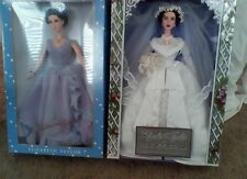 Elizabeth Taylor Father of the Bride & White Diamonds Barbie doll lot of 2