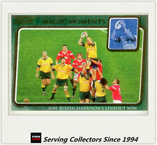 2003 Kryptyx Rugby Union Trading Cards Magic Moment:MM6:01 J. H' Lineout Win