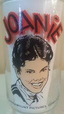 Joanie Happy Days cartoon Glass 1976 Dr Pepper collector series  Nice Pizza Hut