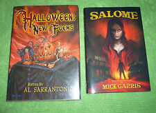 SALOME by Mick Garris & HALLOWEEN: NEW POEMS edited by Al Sarantonio. NEW!