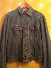 Vintage Men's USA American LEE Denim Blue Jeans Jacket Coat M- L