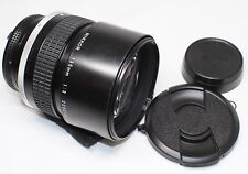 READ! Nikon Nikkor 135mm F/2 Ai-S MF Lens Made In Japan