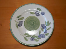 "Tabletops Unlimited OLIVE GARDEN Set of 4 Dinner Plates 10 1/4"" Purple Green"