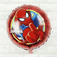 "Spiderman Superhero Marvel Foil Balloon Helium Party Birthday 18"" baloons"