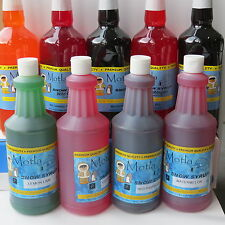 Snow cone maker  100% Snow cone syrup  946ml new,This is NOT slush syrup