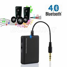 Wireless Bluetooth 4.0 Audio Music Receiver 3.5mm A2DP Car AUX Speaker Adapter
