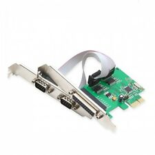 Syba SI-PEX50054 2 Port DB9 Serial and 1 Port DB25 Parallel PCI-e 1.0 x1 Card