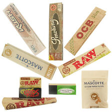 The Organic Rolling Paper Sampler Pack - Great Value