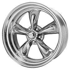 (2) American Racing TORQUE THRUST II Wheels Torq VN515 5x4.75 17x7 Chevy 7761