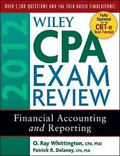 Wiley CPA Exam Review 2012 : Financial Accounting and Reporting by O. Ray...