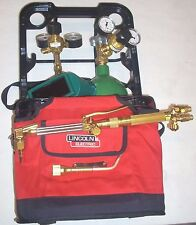 Marquette by Lincoln Port a Torch Acetylene Cutting Welding Torch Outfit w Tanks