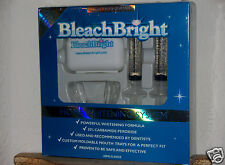 NEW BLEACH BRIGHT BLEACHBRIGHT TEETH HOME WHITENING SYSTEM KIT 30% PEROXIDE FAST