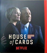House Of Cards Netflix FYC Emmy Promo DVD Set Mini Book Complete Season 4
