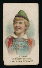 1889 N70/N94 Duke Cigarettes ACTORS & ACTRESSES -J.K. Emmet (Modern Costume)
